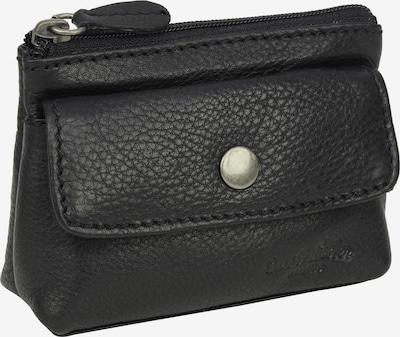 Gusti Leder Portemonnee 'Sascha' in de kleur Zwart, Productweergave