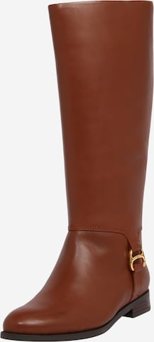 Lauren Ralph Lauren Boots 'BRYSTOL' in Brown