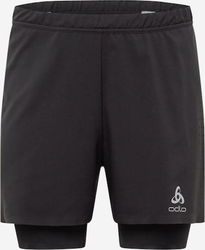 ODLO Sporthose in silbergrau / schwarz, Produktansicht