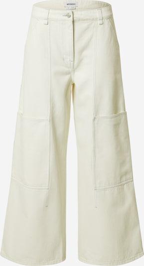 WEEKDAY Pantalon 'Gritty' en beige, Vue avec produit