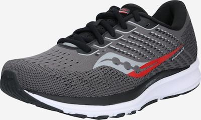 saucony Sportschuh 'Ride 13' in grau / schwarz / weiß, Produktansicht