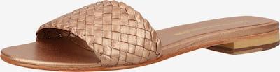 MELVIN & HAMILTON Pantoletten in bronze, Produktansicht