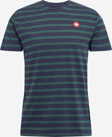 Kronstadt T- Shirt 'Navey' in Grün