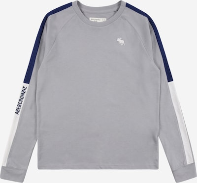 Abercrombie & Fitch Shirt in marine / grau / weiß, Produktansicht