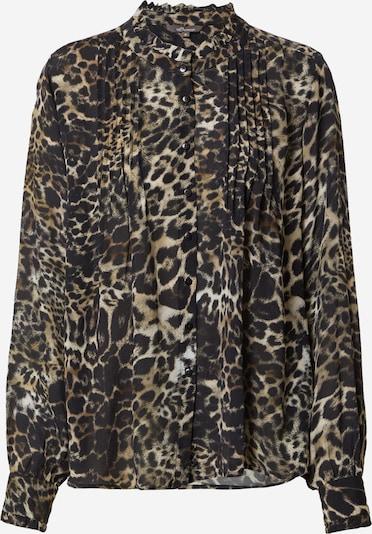PRINCESS GOES HOLLYWOOD Bluse in beige / schwarz, Produktansicht