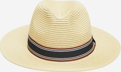 SELECTED HOMME Hut in beige / braun / schwarz / weiß, Produktansicht