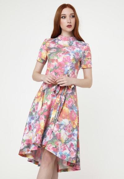 Madam-T Kleid in mischfarben, Modelansicht