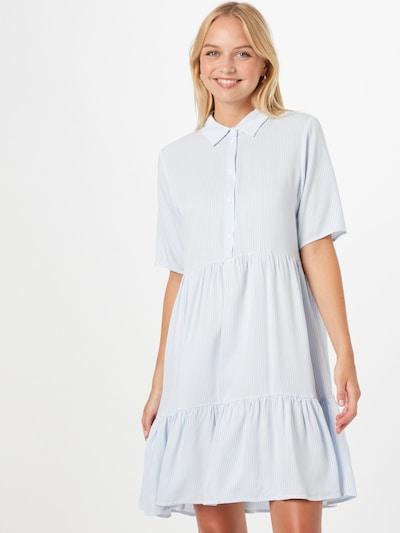 Palaidinės tipo suknelė 'VIMORA' iš VILA, spalva – šviesiai mėlyna / balta, Modelio vaizdas