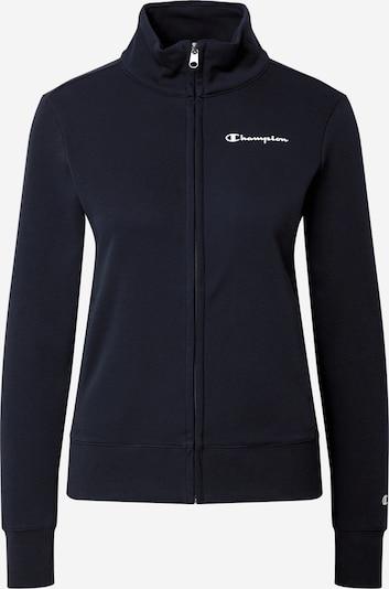 Champion Authentic Athletic Apparel Veste de survêtement en bleu marine / rouge / blanc, Vue avec produit