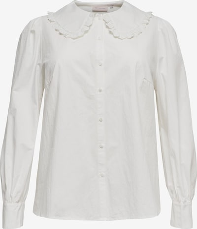 ONLY Carmakoma Blouse 'Pandano' in de kleur Natuurwit, Productweergave