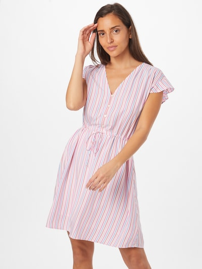 GAP Košeľové šaty - modrá / ružová / biela, Model/-ka