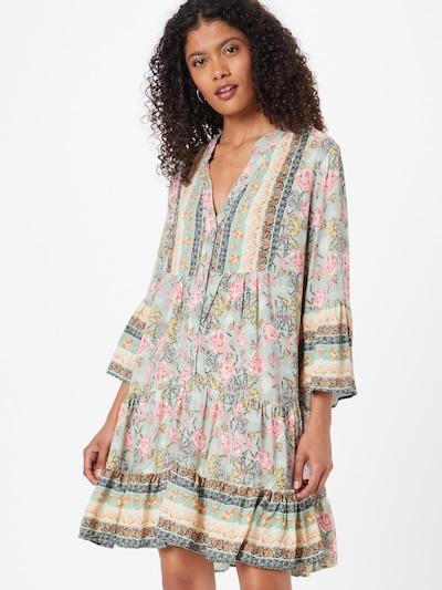Hailys Kleid 'Lotte' in mint / mischfarben, Modelansicht