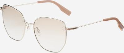 McQ Alexander McQueen Sonnenbrille in nude / hellbeige / silber, Produktansicht