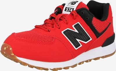 Sneaker new balance pe roșu / negru / alb, Vizualizare produs