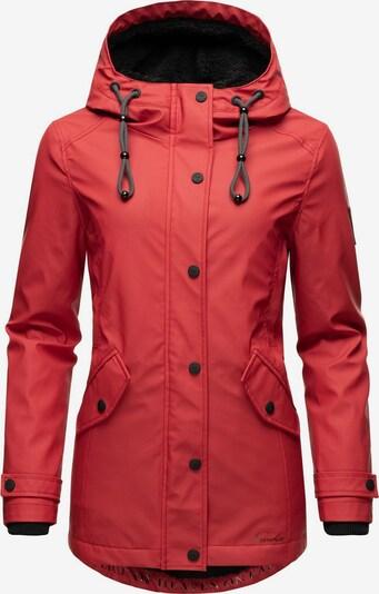 NAVAHOO Regenjacke 'Lindraa' in rot, Produktansicht