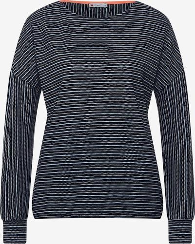 STREET ONE Shirt in navy / hellblau / weiß, Produktansicht
