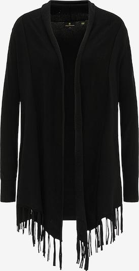 DreiMaster Klassik Strickjacke in schwarz, Produktansicht