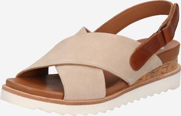 ARA Sandalette 'Valencia' in Beige