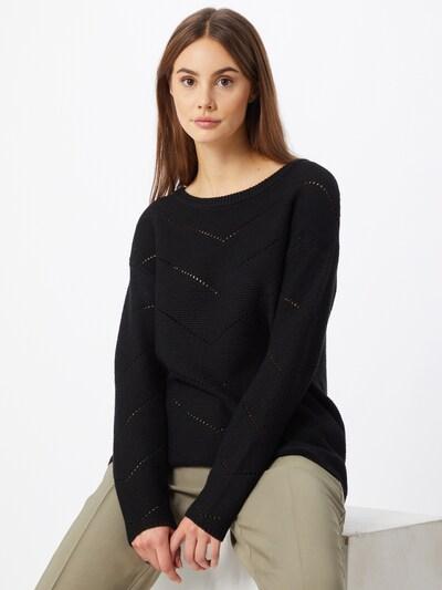Kaffe Pullover 'Amari' in schwarz, Modelansicht