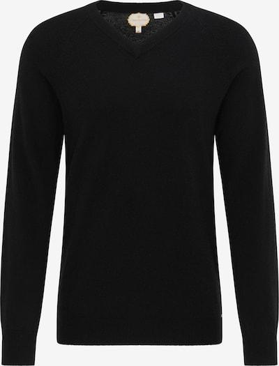 DreiMaster PREMIUM Pullover in schwarz, Produktansicht