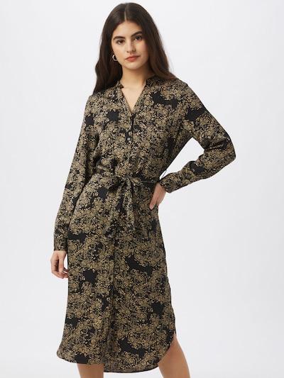 VERO MODA Košilové šaty 'Cornelia' - světle béžová / černá, Model/ka