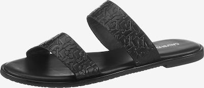 Calvin Klein Pantolette in schwarz, Produktansicht