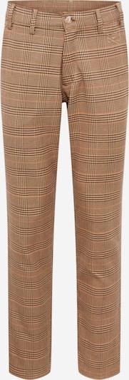 Pantaloni 'Iver' Herrlicher pe maro cămilă / roșu / negru, Vizualizare produs