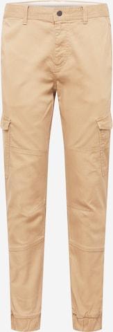 Pantalon cargo TOM TAILOR DENIM en beige