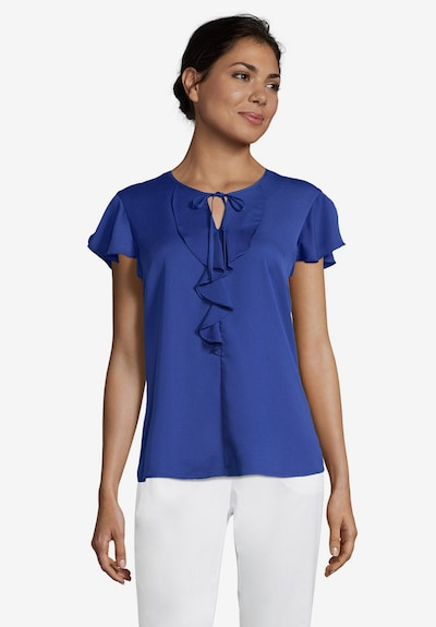 Betty Barclay Blouse in de kleur Blauw, Modelweergave