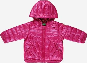 Giacca di mezza stagione di UNITED COLORS OF BENETTON in rosa