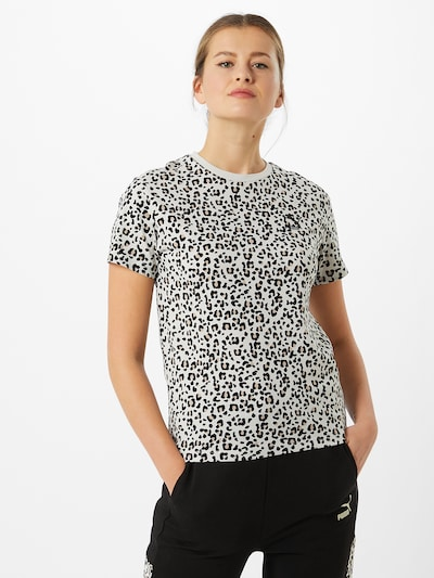 PUMA Majica u crna / bijela, Prikaz modela