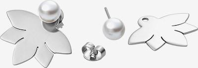 Heideman Oorbellen in de kleur Zilver / Parelwit, Productweergave