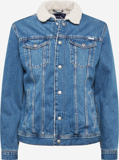JACK & JONES Übergangsjacke in blue denim, Produktansicht