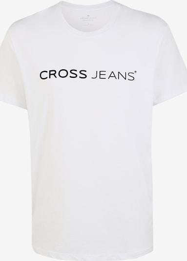 Cross Jeans T-Shirt in schwarz / weiß, Produktansicht