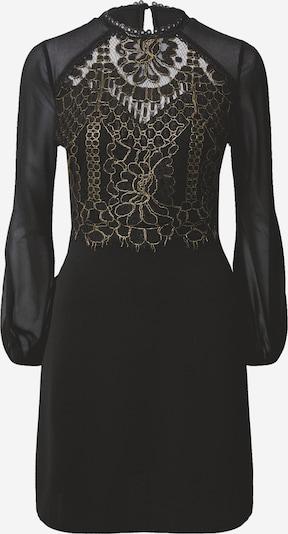 Lipsy Kleid 'Aline' in gold / schwarz, Produktansicht