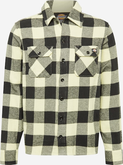 DICKIES Košile 'SACRAMENTO' - světle žlutá / černá, Produkt