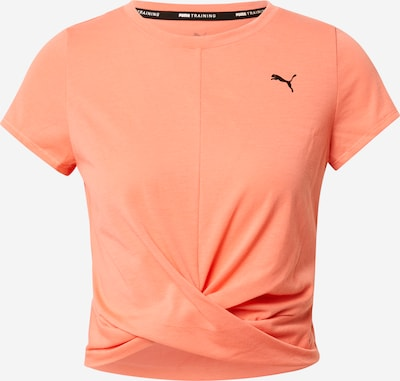 PUMA T-shirt fonctionnel en pêche / noir, Vue avec produit