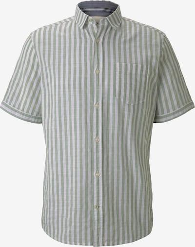 Marškiniai iš TOM TAILOR, spalva – šviesiai žalia / balta, Prekių apžvalga