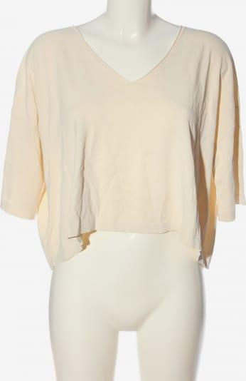Liviana Conti Kurzarm-Bluse in L in creme, Produktansicht
