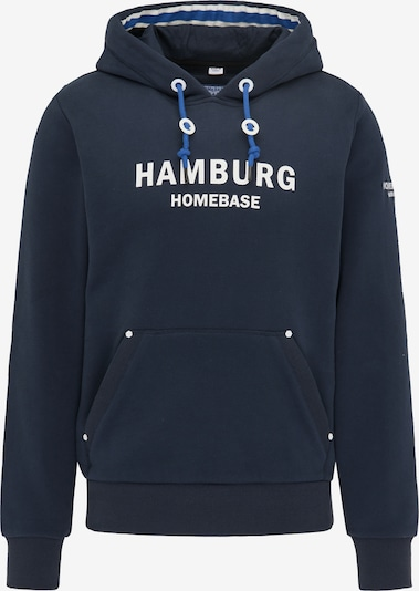 HOMEBASE Sweatshirt in marine / weiß, Produktansicht
