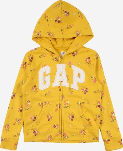 GAP Sweatjacke in gelb / mischfarben, Produktansicht