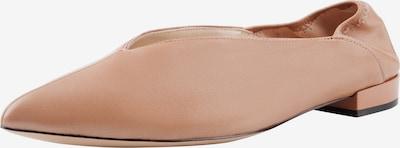 Ekonika Ballerinas aus weichem Leder in beige, Produktansicht