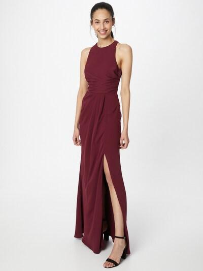 STAR NIGHT Kleid in weinrot, Modelansicht