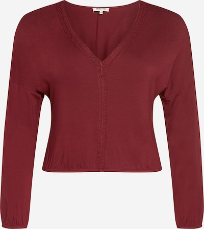 ABOUT YOU Curvy Shirt 'Karli' in rot, Produktansicht