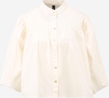 Y.A.S Petite Bluse 'SALISA' i beige