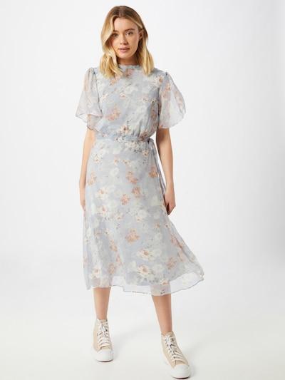 VILA Kleid 'Parisa' in hellblau / mischfarben, Modelansicht