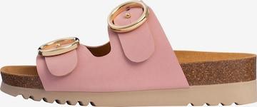 SCHOLL Pantolette 'MALIBU 2 STRAPS' in Pink