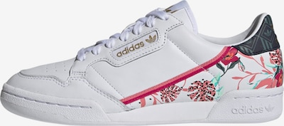 ADIDAS ORIGINALS Sneakers laag 'Continental 80' in de kleur Groen / Pink / Zwart / Wit, Productweergave