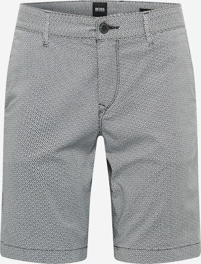BOSS Casual Chino-püksid must / valge, Tootevaade