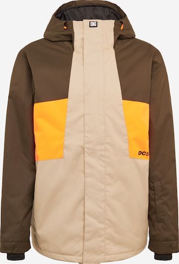 DC Shoes Zunanja jakna 'Defy' | bež / rjava / oranžna barva, Prikaz izdelka